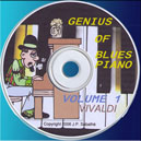 Genius Blues Piano volume 1